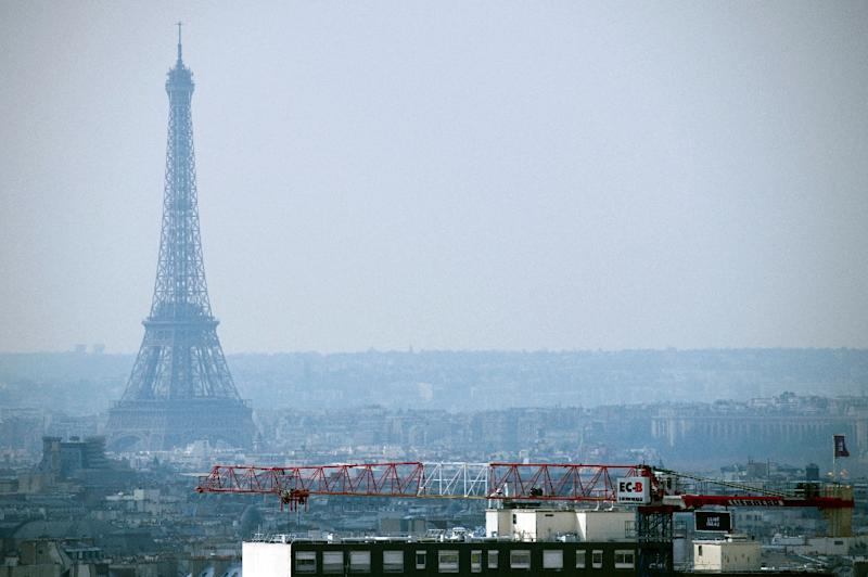 Paris mayor Anne Hidalgo wants authorities to stop one in every two cars entering the capital and make all public transport free for a day in a bid to drive down pollution (AFP Photo/Lionel Bonaventure)