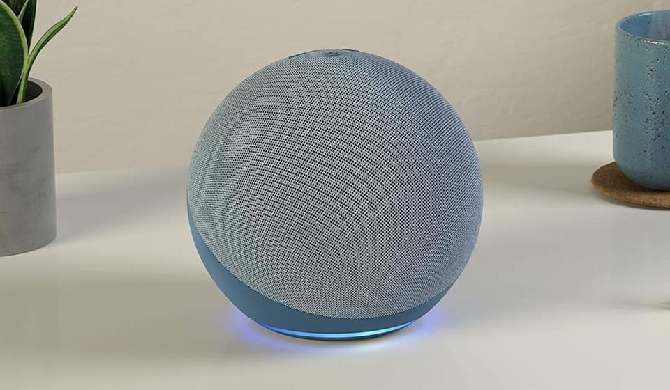 The current-generation Amazon Echo offers big sound, making it a good choice for listening to music. (Photo: Amazon)