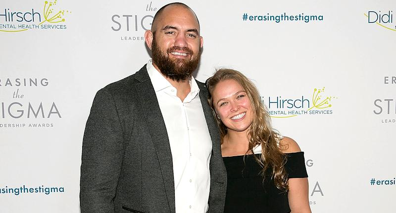 Here's What Ronda Rousey's Wedding Dress Looked Like