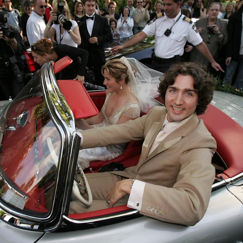 Justin Trudeau Is Straight-Up Prince Charming in His Throwback Wedding Photos