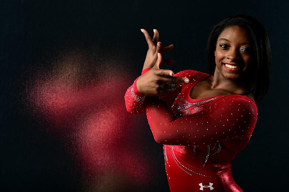 <p>Simone Biles made her senior debut in 2013 and has had a near perfect record since. She even has a signature move named after her known as, 'The Biles'. (Getty) </p>