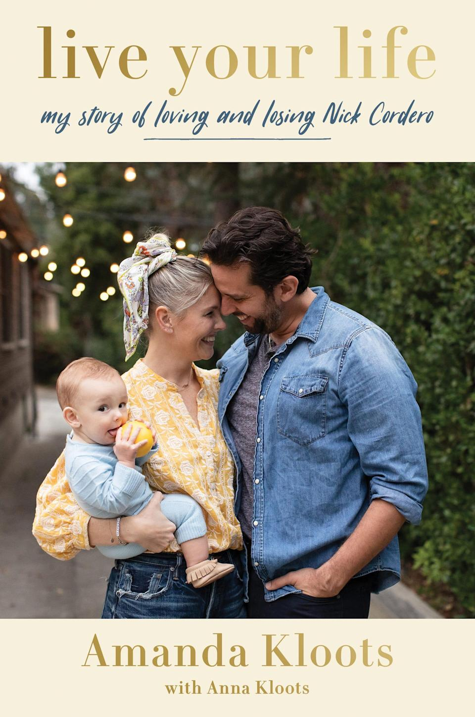 """Amanda Kloots co-wrote the book """"Live Your Life: My Story of Loving and Losing Nick Cordero"""" with her sister Anna."""