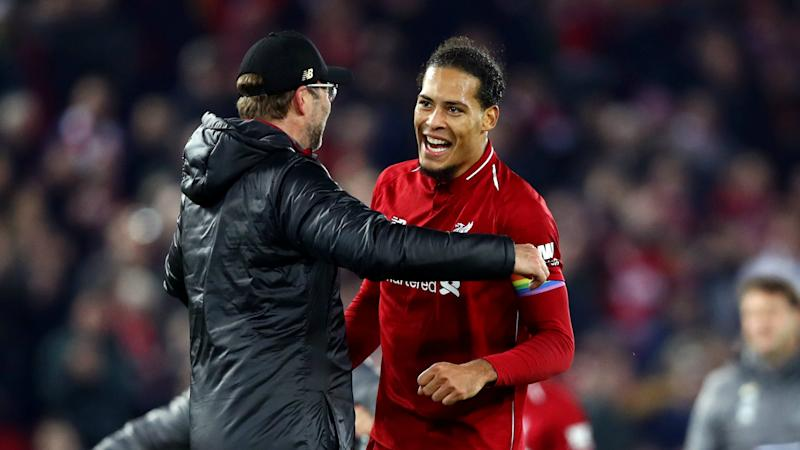 I love to see it! – Riise defends Klopp's on-pitch celebrations