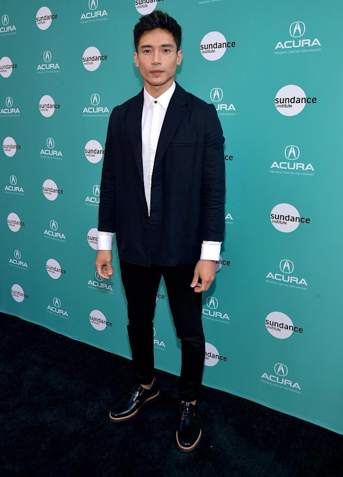These Photos Show Why Manny Jacinto Has a Good Place in Our Hearts