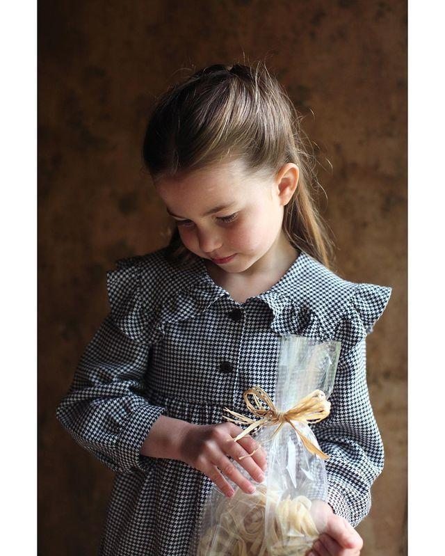 "<p>""Thank you for all your lovely messages on Princess Charlotte's fifth birthday!</p><p>The Duke and Duchess of Cambridge are very pleased to share a new photograph of Princess Charlotte, taken by The Duchess this April.""</p><p><a href=""https://www.instagram.com/p/B_rZClGl2gj/"" rel=""nofollow noopener"" target=""_blank"" data-ylk=""slk:See the original post on Instagram"" class=""link rapid-noclick-resp"">See the original post on Instagram</a></p>"