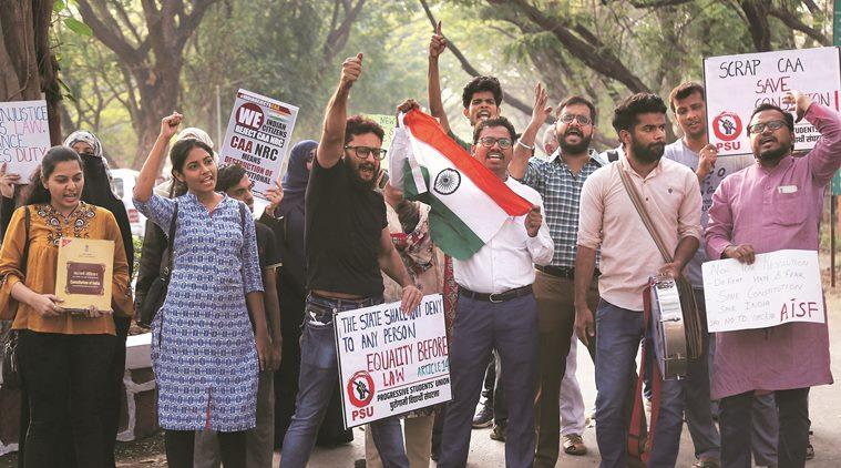 Citizenship Amendment Act, CAA, CAA protests, CAA support rally, CAA protests Delhi, CAA protests UP, CAA protests across India, Express Opinion, Indian Express