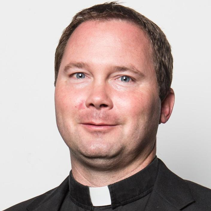 Image: St. Mary's Pastor Brent Shelton. (Diocese of Knoxville)