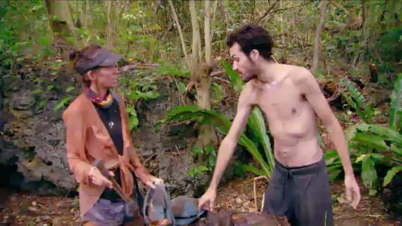 Contestant Baden from South Australia is raising concerns with his drastically slimmed down look. Photo: Ten