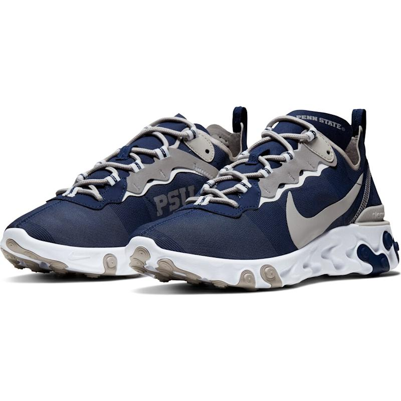 Penn State Nittany Lions React Element 55 Sneakers