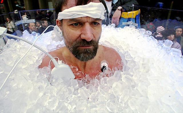 Cryotherapy me a river: Freezing our aches, pains and fat