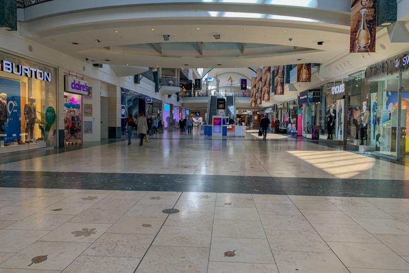 Bluewater Shopping Centre in Kent empty for fears of a potential quarantine due to an outbreak of Coronavirus (COVID-19) on March 20, 2020 in London, UK. (Photo by Robin Pope/SIPA USA)