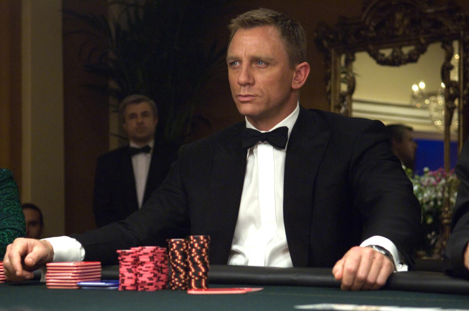 James Bond (DANIEL CRAIG) in the 007 action adventure CASINO ROYALE, from Metro-Goldwyn Mayer Pictures and Columbia Pictures through Sony Pictures Releasing.
