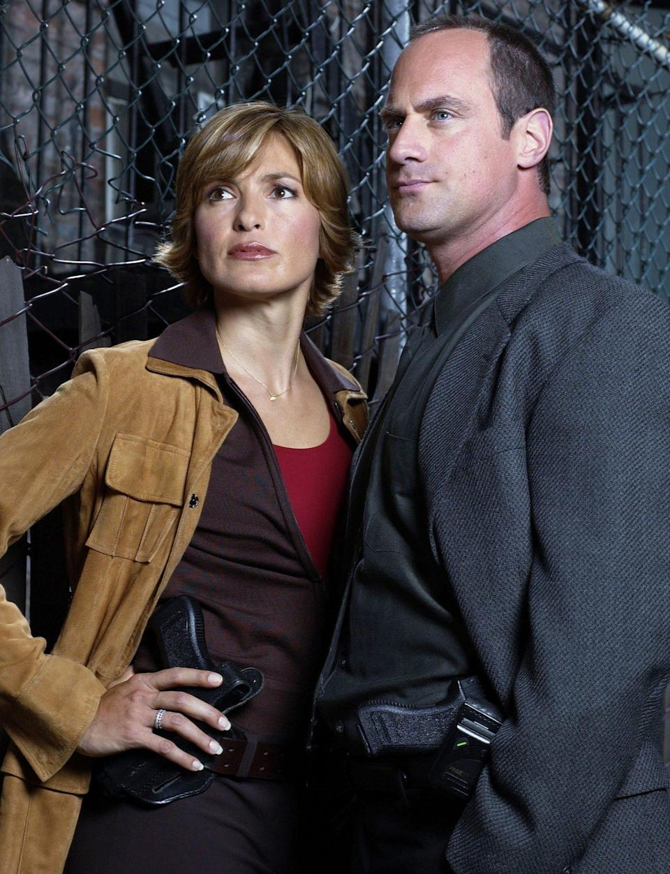 """<p><a href=""""https://people.com/tv/mariska-hargitay-was-devastated-when-chris-meloni-left-law-order-svu/"""" rel=""""nofollow noopener"""" target=""""_blank"""" data-ylk=""""slk:Hargitay told PEOPLE she was &quot;devastated&quot;"""" class=""""link rapid-noclick-resp"""">Hargitay told PEOPLE she was """"devastated""""</a> when her friend and costar abruptly exited the series.</p> <p>""""I was just so sad, because we started this thing and built it together,"""" she explained. """"And we went through so many milestones and spent so much time together and understood so many things that nobody else could understand.""""</p>"""