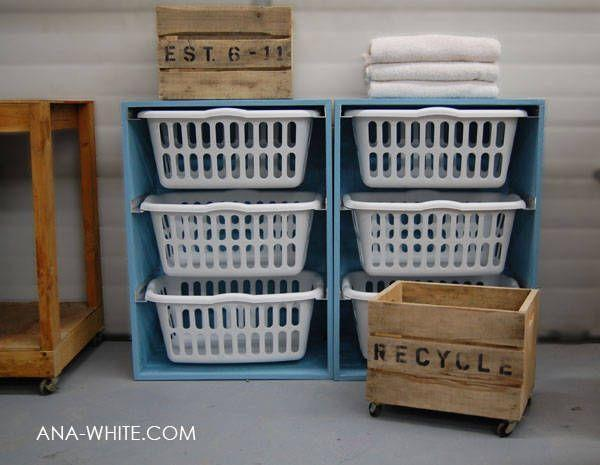 "<p>Laundry baskets strewn around the house or stacked in piles in your laundry room sounds like something out of decor nightmares, but don't stress. A simple-to-build dresser allows you to slide your laundry baskets in and out when you need to use them—and store them in between washings. Genius.</p><p>Get the tutorial at <a href=""http://ana-white.com/2010/11/laundry-basket-dresser"" rel=""nofollow noopener"" target=""_blank"" data-ylk=""slk:Ana White"" class=""link rapid-noclick-resp"">Ana White</a>.</p>"