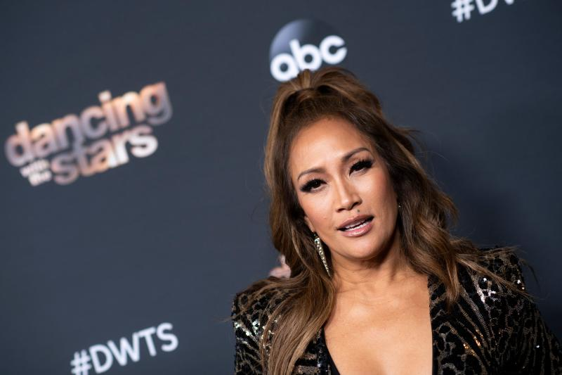 "Carrie Ann Inaba reacts to ""Dancing With The Stars"" firing of Tom Bergeron and Erin Andrews. (Photo: Erin Andrews)"
