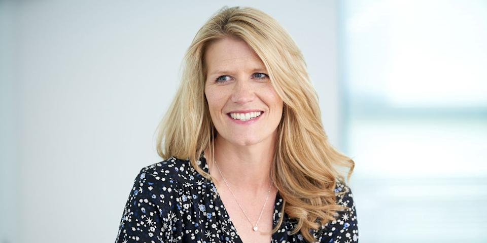 Sarah Morris, chief people officer, Compass Group