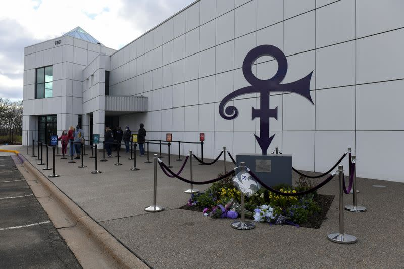 Paisley Park on the fifth anniversary of Prince's death