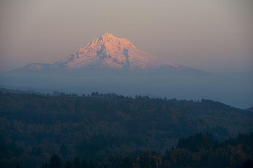 <p>A snow-capped Mt. Hood dominates the horizon of this scenic National Park in Oregon. It's a quintessential Pacific Northwest nature preserve, complete with a blanket of evergreens, stunning views and endless trails for exploring.</p>