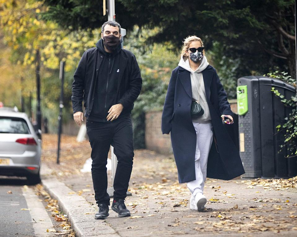 """<p>Ora's most recent relationship, reportedly only ending earlier this year, was with French movie director Gavras. The duo dated from late 2020 until early 2021, when COVID lockdowns forced the international couple to stay apart for months. </p> <p>""""<a href=""""http://www.dailymail.co.uk/tvshowbiz/article-9213747/Rita-Oras-boyfriend-Romain-Gavras-confirms-together.html"""" class=""""link rapid-noclick-resp"""" rel=""""nofollow noopener"""" target=""""_blank"""" data-ylk=""""slk:Rita and I are very close"""">Rita and I are very close</a>. She is an amazing person,"""" Gavras told <strong>Mail Online</strong> in February amidst rumors of their split. A month later, however, Gavras admitted that this """"closeness"""" wasn't actually a romance anymore, and hadn't been for a few months.</p> <p>""""<a href=""""http://www.dailymail.co.uk/tvshowbiz/article-9329531/Rita-Oras-boyfriend-confirms-couple-split-work-commitments.html"""" class=""""link rapid-noclick-resp"""" rel=""""nofollow noopener"""" target=""""_blank"""" data-ylk=""""slk:Rita and Romain split up"""">Rita and Romain split up</a> months ago because of difficulties with their respective work commitments. They remain close friends,"""" Gavras's spokesperson told <strong>Mail Online</strong>. </p>"""