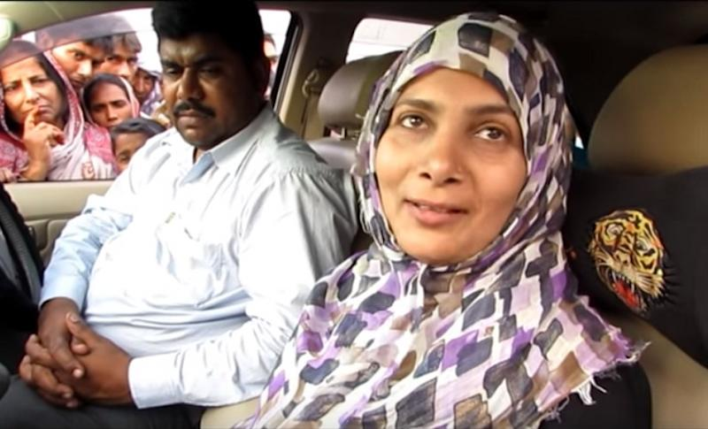Gangster Shahabuddin's wife Hina Shahab is RJD candidate from Siwan. Youtubescrengrab