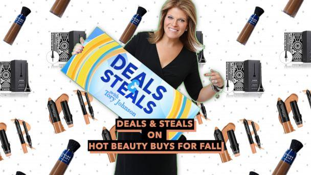 PHOTO: Deals & Steals on hot beauty buys for fall (ABC News Photo Illustration, Amkiri, Trestique, TruHair)