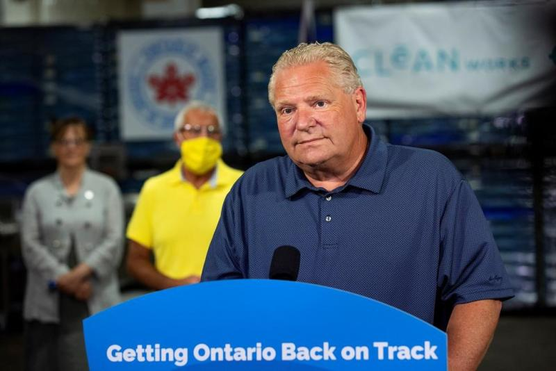 Ontario projects wider budget deficit as COVID-19 economic support climbs