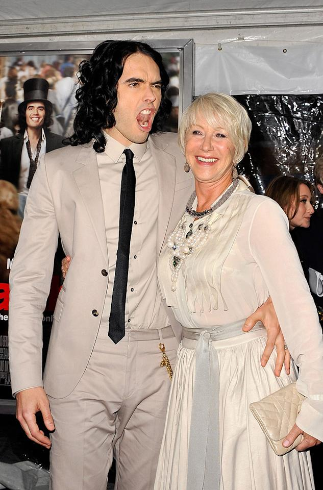 "<a href=""http://movies.yahoo.com/movie/contributor/1809838319"">Russell Brand</a> and <a href=""http://movies.yahoo.com/movie/contributor/1800011130"">Helen Mirren</a> attend the New York City premiere of <a href=""http://movies.yahoo.com/movie/1810167411/info"">Arthur</a> on April 5, 2011."
