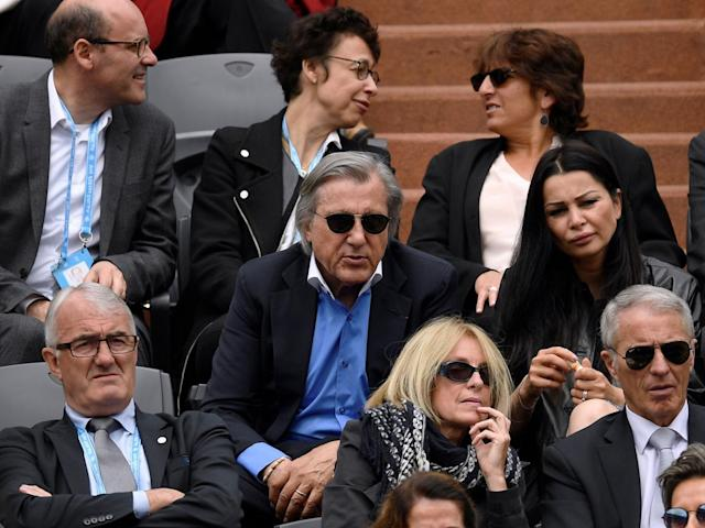 Nastase was dismissed from court for his behaviour (Getty)