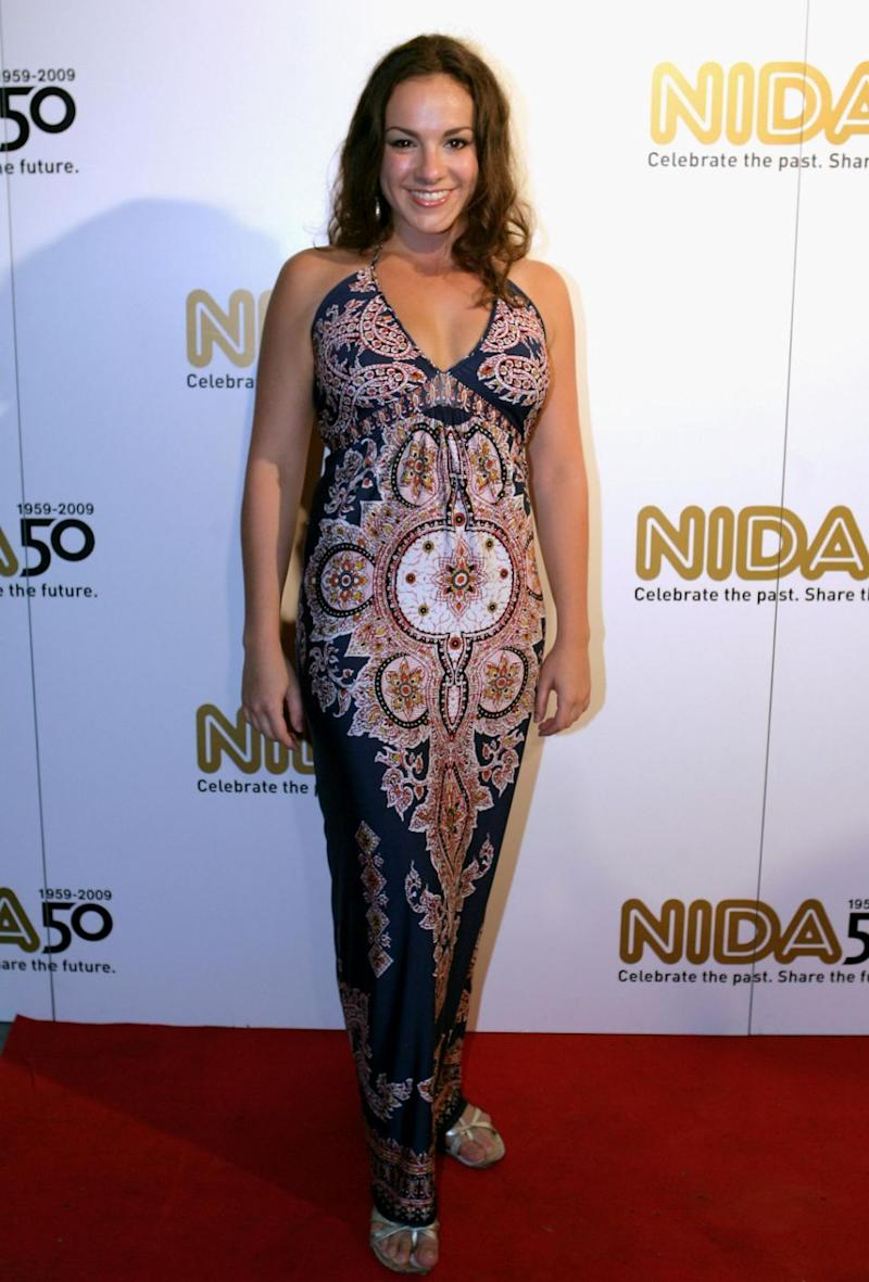 Actress Angela Scundi, seen here in 2006, also claims McLachlan was sexually inappropriate towards her. Source: Getty