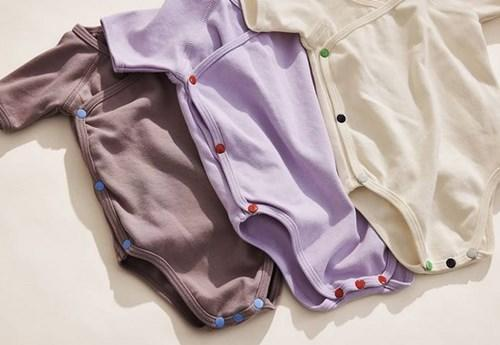 The clothes are made with GOTS certified organic cotton