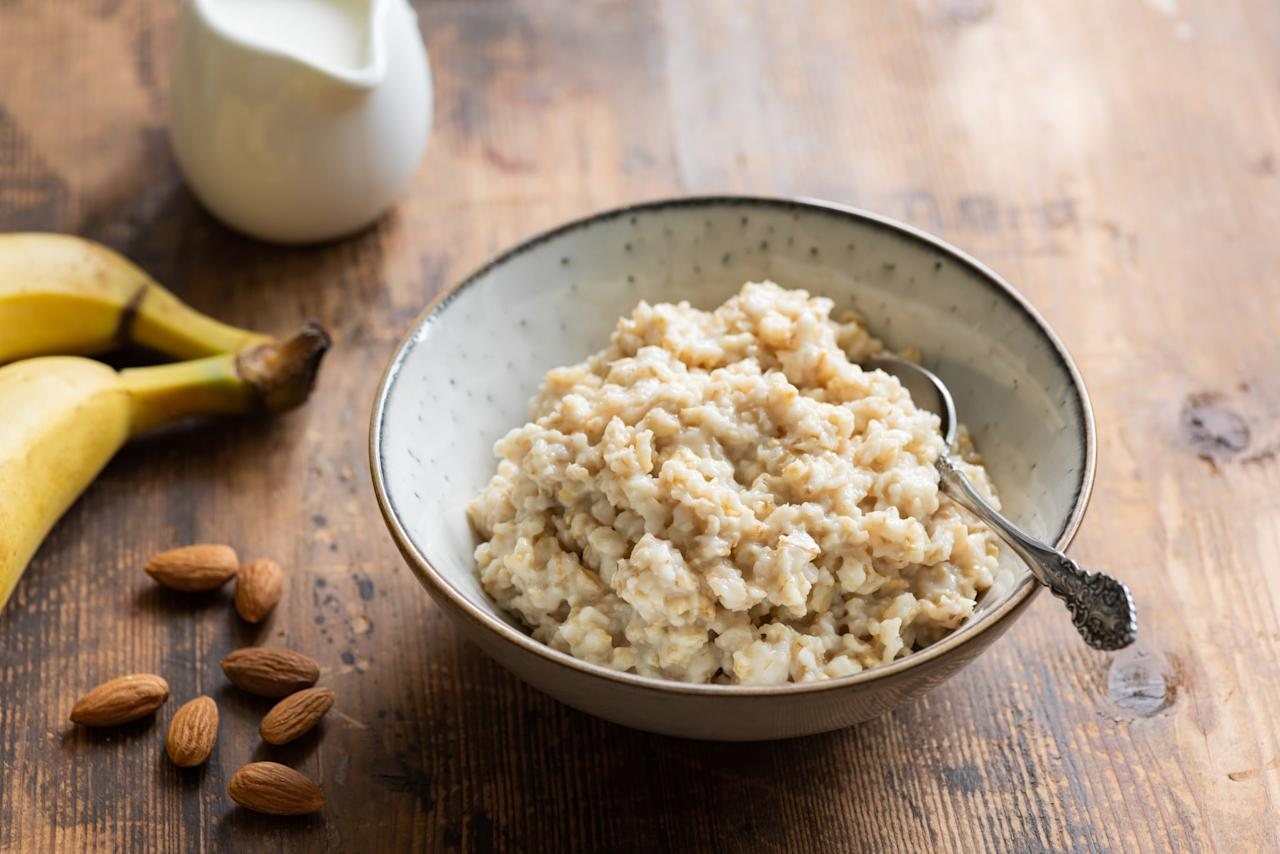 "<p>Oats are a great toddler food for many reasons: they stick to a spoon for self-feeding practice, they mix well with other flavors, and they contain iron. But oats may have another benefit in a toddler's diet: supporting the immune system.</p> <p>Oats contain <a href=""https://onlinelibrary.wiley.com/doi/full/10.1111/j.1541-4337.2012.00189.x"" target=""_blank"" class=""ga-track"" data-ga-category=""Related"" data-ga-label=""https://onlinelibrary.wiley.com/doi/full/10.1111/j.1541-4337.2012.00189.x"" data-ga-action=""In-Line Links"">beta glucans which plays a role in activating killer cells</a> to help control viral infections. Feel good knowing that your baby's breakfast is not only nourishing, but it is also fueling it's little body with what it needs to help your little one fight off illness. Win-win!</p>"