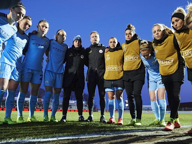 City's women's side are looking to reach the Champions League semi-finals on Thursday: Getty