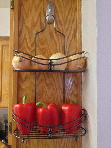 """<p>Hey, why not? It'll free up space elsewhere, and make it a little easier to grab an onion when you're making dinner.</p><p><a href=""""http://domesticdivadomain.blogspot.co.uk/2013/07/diy-produce-rack.html"""" rel=""""nofollow noopener"""" target=""""_blank"""" data-ylk=""""slk:See more at Domestic Diva Domain »"""" class=""""link rapid-noclick-resp""""><em>See more at Domestic Diva Domain »</em></a></p>"""