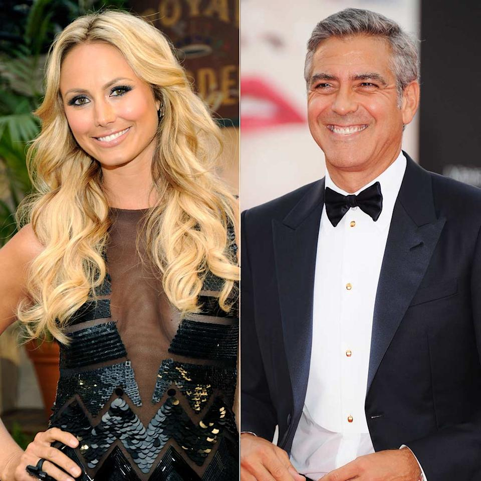 If you were concerned that George Clooney and Stacy Keibler's relationship was just a summer fling, apparently, it may last through the fall. Though rumors swirled that the 50-year-old A-list bachelor and the 31-year-old former WWE star were done after Stacy didn't join George at the Venice Film Festival, a source recently confirmed to <i>People</i> that the two are indeed an item. Any bets as to whether or not they make it to Thanksgiving? Kevin Mazur/WireImage.com, Venturelli/WireImage.com