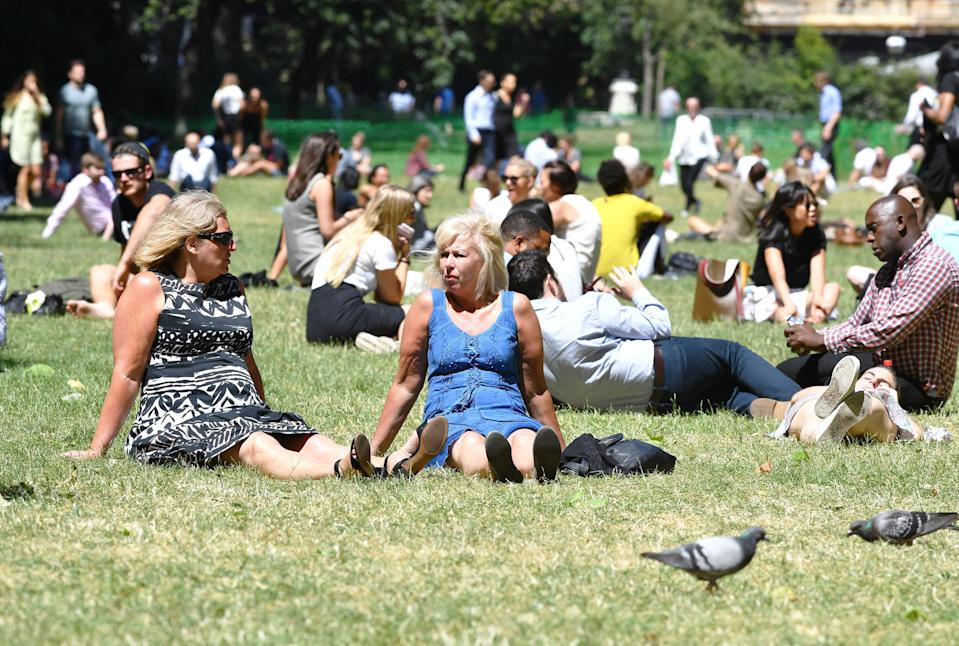 <em>Heatwave – Britain is baking in a heatwave that saw one of its hottest and driest Junes ever (Picture: PA)</em>