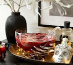 <p>Pick your poison and fill up this <span>Skeleton Hand Punch Bowl With Ladle</span> ($100).</p>