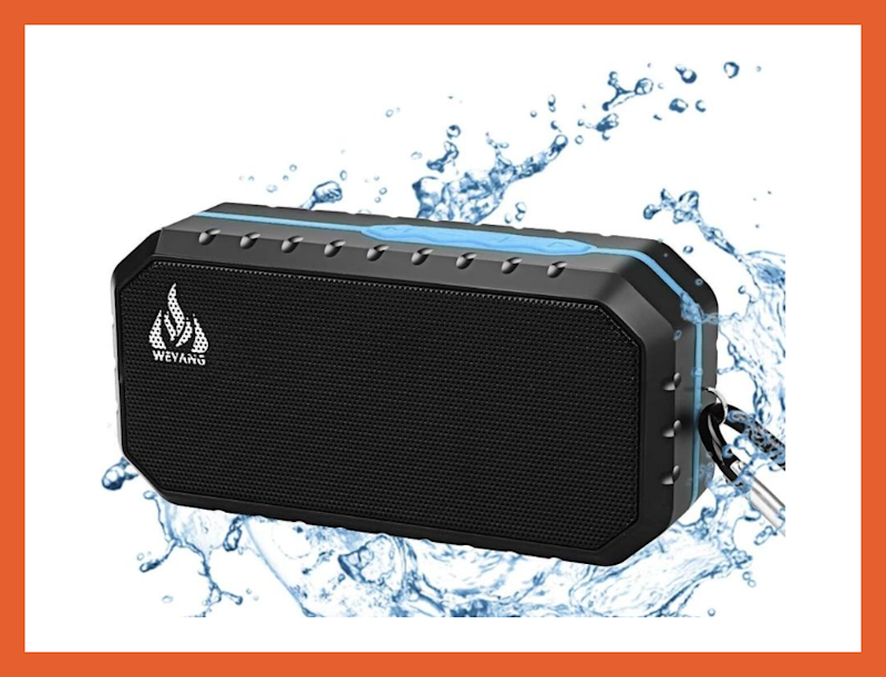 Solo por $ 15: altavoz inalámbrico Bluetooth Weyang. (Foto: Amazon)
