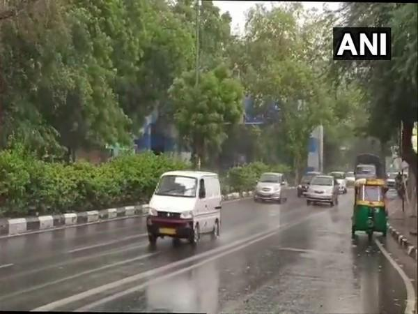 Visuals from Delhi's South Moti Bagh (Photo/ANI)