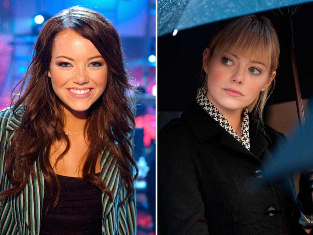 """Well before her big break on """"Superbad"""" opposite Jonah Hill and her too-many-to-list high-profile movie roles, <b>Emma Stone</b>   won the role of Laurie Partridge on VH1's reality-competition show """"In Search of the New Partridge Family."""