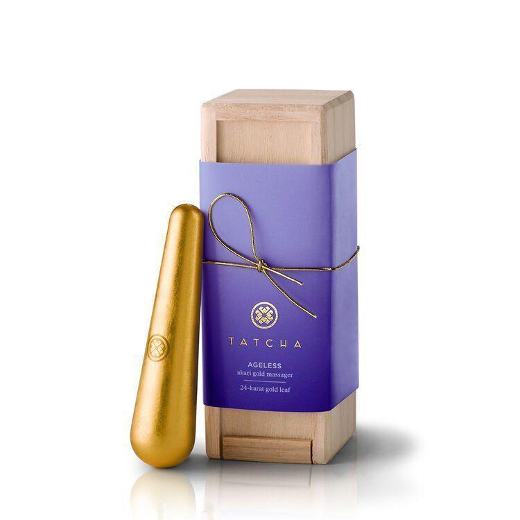 """<p><strong>Tatcha</strong></p><p>tatcha.com</p><p><strong>$156.00</strong></p><p><a href=""""https://go.redirectingat.com?id=74968X1596630&url=https%3A%2F%2Fwww.tatcha.com%2Fproduct%2Fakari-gold-massager%2FGOLD-MASSAGER.html&sref=https%3A%2F%2Fwww.harpersbazaar.com%2Fbeauty%2Fskin-care%2Fg37611110%2Ftatcha-friends-family-sale%2F"""" rel=""""nofollow noopener"""" target=""""_blank"""" data-ylk=""""slk:Shop Now"""" class=""""link rapid-noclick-resp"""">Shop Now</a></p><p>Treat yourself to a relaxing spa day at home with this 24-karat gold-leafed massager, which can be used hot or cold depending on your skin care needs.</p>"""
