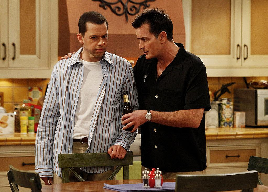"""""""<a href=""""/two-and-a-half-men/show/35441"""">Two and a Half Men</a>"""": """"'Two and a Half Men' has jumped the shark pretty hard … All the characters are just caricatures of themselves, the writing isn't creative, and the jokes have all been done so many times before. I can't believe they upped Sheen for two more years at that salary. The show is losing steam."""" — pageian <a href=""""http://www.tvguide.com/PhotoGallery/Shows-Jumped-Shark-1025939"""" rel=""""nofollow"""">Source: TV Guide</a>"""