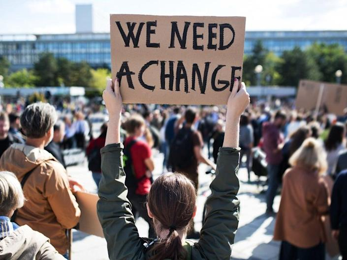 'Together we can change societies and pressure our leaders'  (iStock/Getty Images)