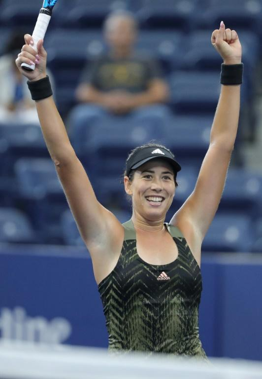 Spain's Garbine Muguruza has won Grand Slam titles on clay and grass but has yet to win one on hardcourts such as those where the US Open is being contested in New York (AFP/Kena Betancur)