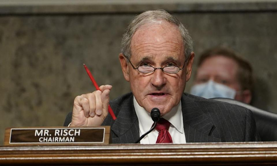James Risch in Washington DC on 24 September 2020.