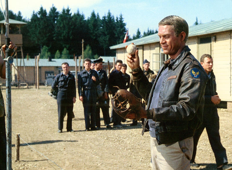 Steven McQueen in 'The Great Escape' (Photo: Courtesy Everett Collection)