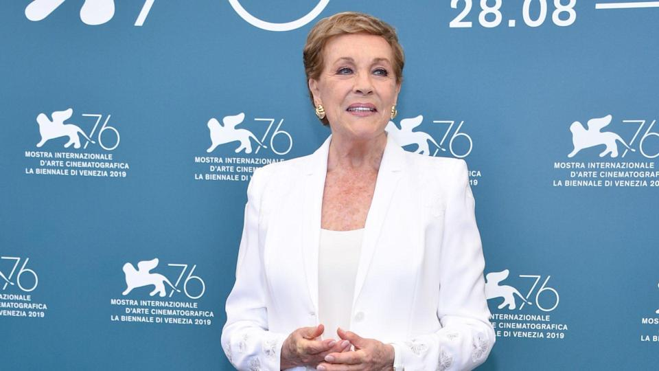 """<p><span>Few people in Hollywood have resumes that can compete with that of Julie Andrews, who earned her first credit in 1949 for """"The Singing Princess."""" She won an Oscar for """"Mary Poppins"""" and was nominated for """"The Sound of Music"""" and """"Victor Victoria."""" </span></p> <p><span>She's been picking Emmy nominations since the 1950s while racking up 49 acting credits, 53 soundtrack credits and more than 200 appearances as herself. Her incredible career has earned her a net worth of $30 million, and her voice-over work as Lady Whistledown in """"Bridgerton"""" earned her an Emmy nomination.</span></p> <p><em><strong>Check Out: </strong></em><em><strong><a href=""""https://www.gobankingrates.com/net-worth/celebrities/highest-paid-movie-roles-time/?utm_campaign=1110520&utm_source=yahoo.com&utm_content=15&utm_medium=rss"""" rel=""""nofollow noopener"""" target=""""_blank"""" data-ylk=""""slk:10 Highest-Paid Movie Roles of All Time"""" class=""""link rapid-noclick-resp"""">10 Highest-Paid Movie Roles of All Time</a></strong></em></p> <p><small>Image Credits: Shutterstock</small></p>"""
