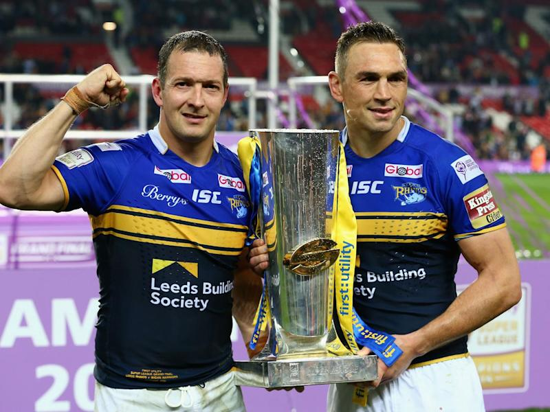Danny McGuire clinched victory in the 2015 Grand Final with Leeds (Getty)