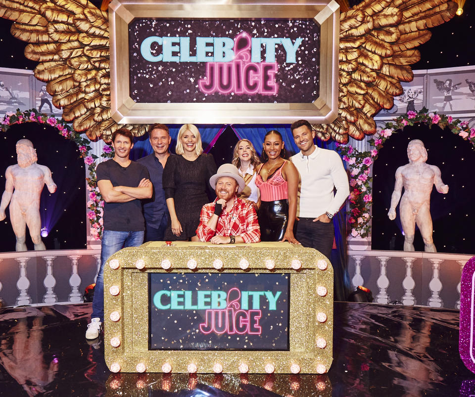 Holly Willoughby has quit 'Celebrity Juice' after 12 years as a team captain. (Talkback Thames)