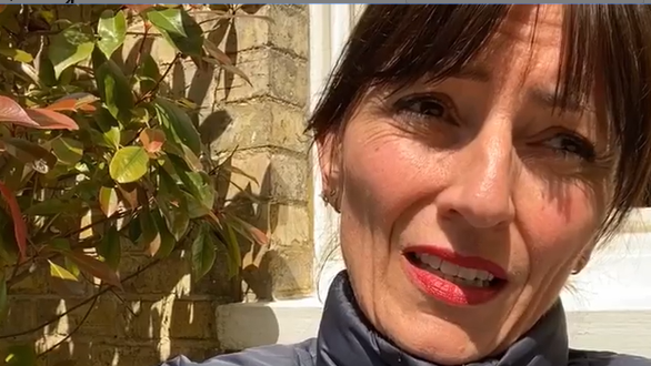 Screengrab from Davina McCall Instagram