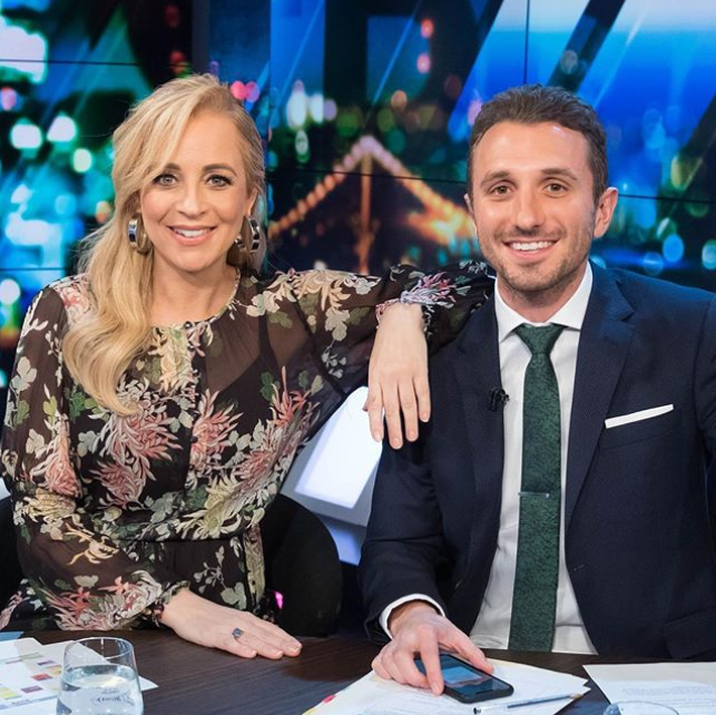 Carrie Bickmore and Tommy Little have created a birthing photoshoot in support of Unicef Australia's <span>'Save A Newborn Appeal'. </span>Source: Instagram/Carrie Bickmore